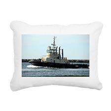 Tug boat 4 Rectangular Canvas Pillow