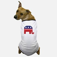 Mississippi Republican Elephant Dog T-Shirt