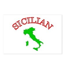 Sicilian Postcards (Package of 8)