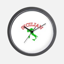 Sicilian Wall Clock