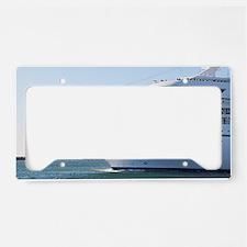 Cruise ship 21 License Plate Holder