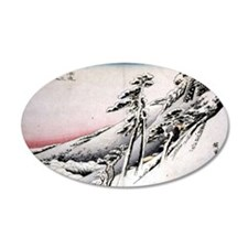Ando Hiroshige, Clear Weathe Wall Decal