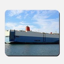 Vehicle carrier cargo ship 4 Mousepad