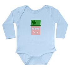 Leprachaun Triclopsies Long Sleeve Infant Bodysuit
