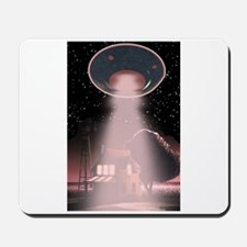 Abduction! Red Mousepad