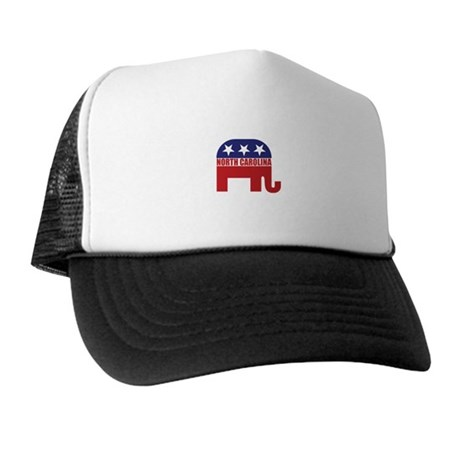 North Carolina Republican Elephant Trucker Hat