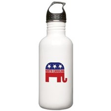 North Carolina Republican Elephant Water Bottle