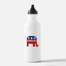 North Carolina Republican Elephant Water Bottle