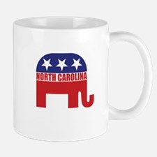 North Carolina Republican Elephant Mugs