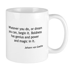 Johann von Goethe - Boldness Mugs