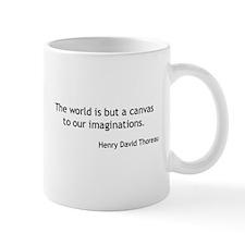 Henry David Thoreau - Canvas Mugs