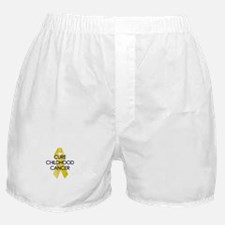 Gold Ribbon Boxer Shorts