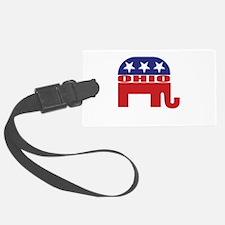 Ohio Republican Elephant Luggage Tag