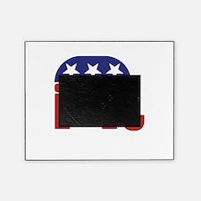 Ohio Republican Elephant Picture Frame