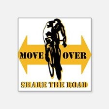 Move Over Share The Road Sticker