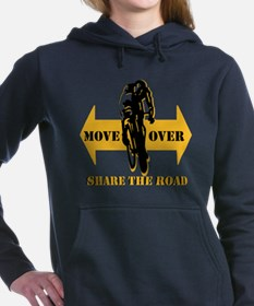 Move Over Share The Road Hooded Sweatshirt