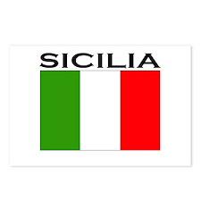 Sicilia, Italia Postcards (Package of 8)