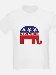 New York Republican Elephant T-Shirt