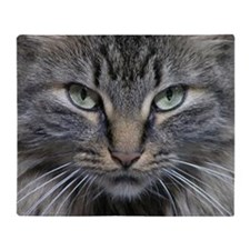 Main Coon Kitty Cat Throw Blanket