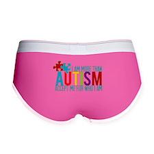 Autism Awareness Women's Boy Brief