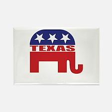 Texas Republican Elephant Magnets