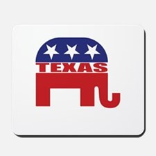 Texas Republican Elephant Mousepad