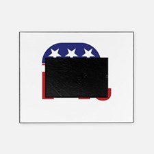 Texas Republican Elephant Picture Frame