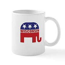 Wisconsin Republican Elephant Mugs