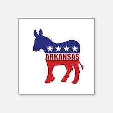 Arkansas Democrat Donkey Sticker