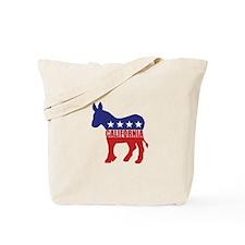California Democrat Donkey Tote Bag