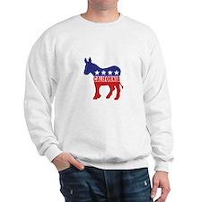 California Democrat Donkey Sweatshirt