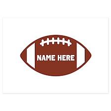 Customize a Football Invitations