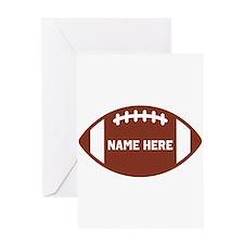 Customize a Football Greeting Cards