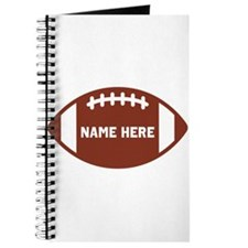 Customize a Football Journal