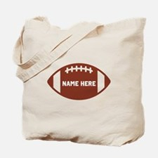 Customize a Football Tote Bag