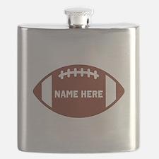 Customize a Football Flask