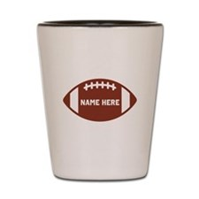 Customize a Football Shot Glass