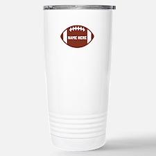 Customize a Football Travel Mug
