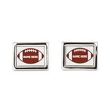 Customize a Football Cufflinks