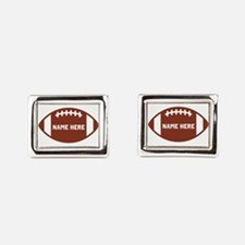 Customize a Football Cufflinks