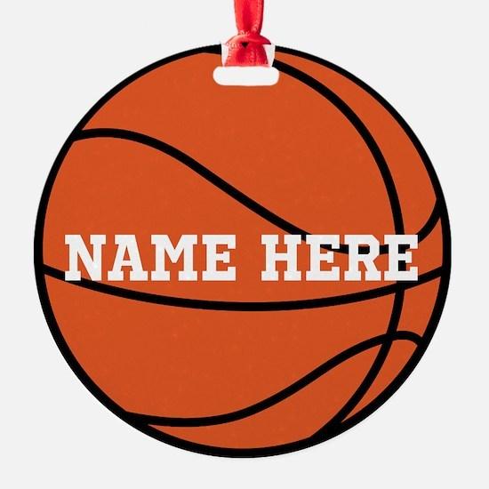 Customize a Basketball Ornament