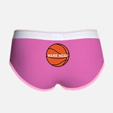 Customize a Basketball Women's Boy Brief