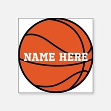 Customize a Basketball Sticker
