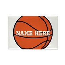 Customize a Basketball Magnets