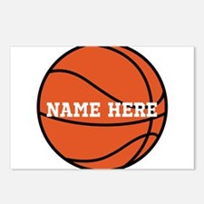 Customize a Basketball Postcards (Package of 8)