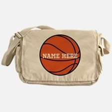 Customize a Basketball Messenger Bag