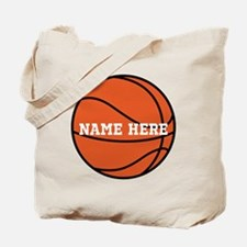 Customize a Basketball Tote Bag