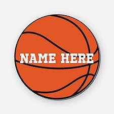 Customize a Basketball Cork Coaster