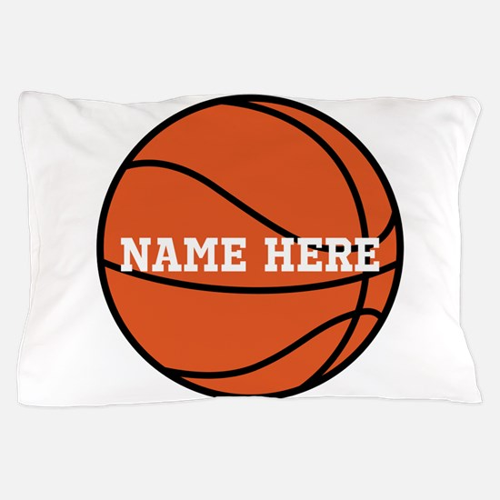 Customize a Basketball Pillow Case