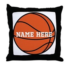Customize a Basketball Throw Pillow